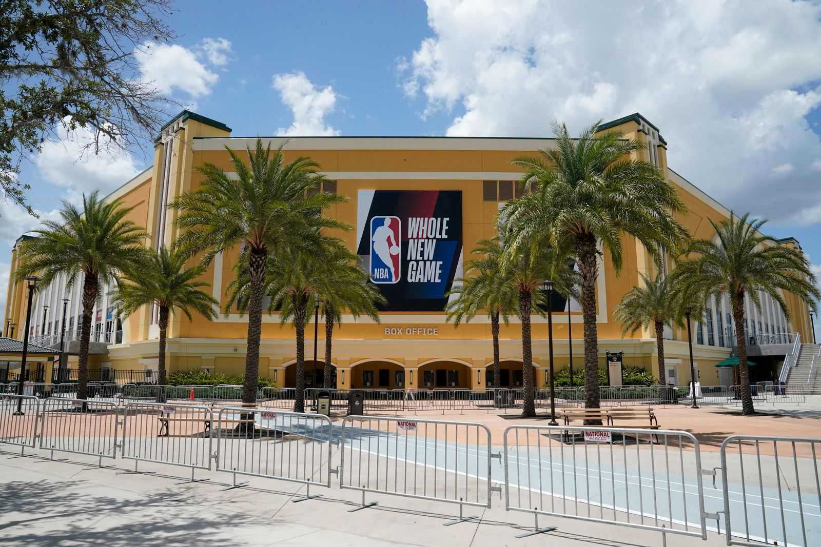 NBA Restart Basketball