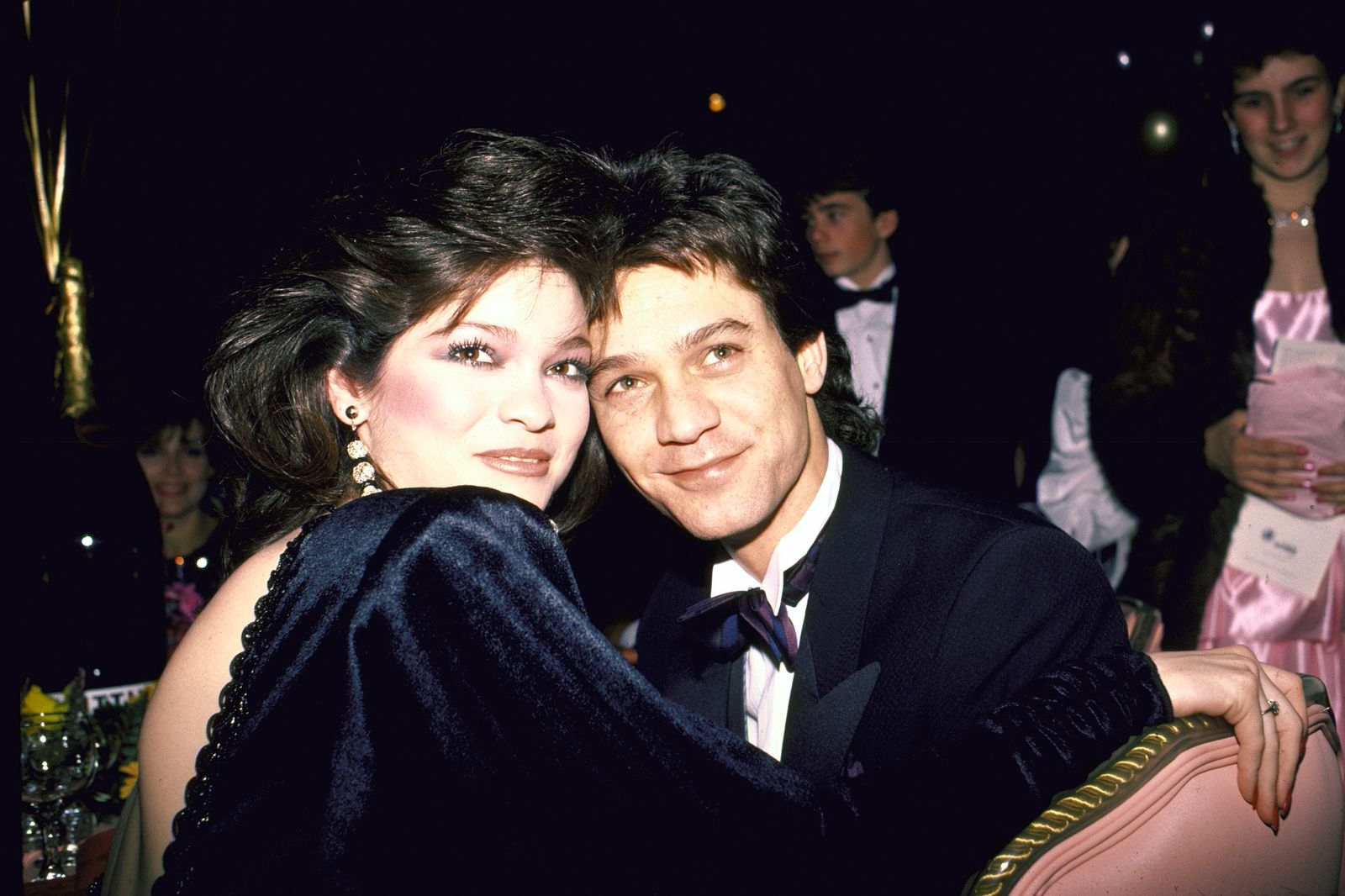 Valerie Bertinelli;Eddie Van Halen [& Wife]