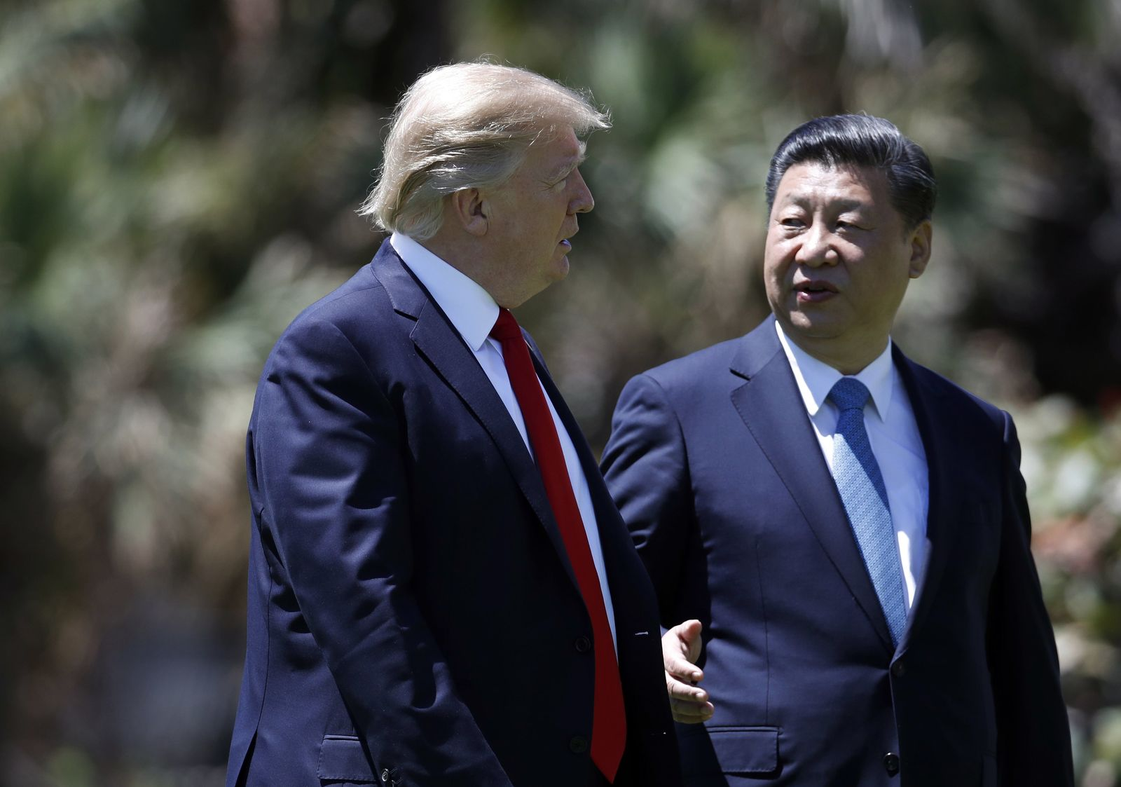 Trump und Xi/ Palm Beach