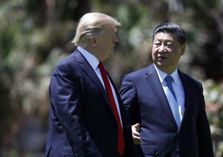 Trump und Xi (Archivaufnahme)