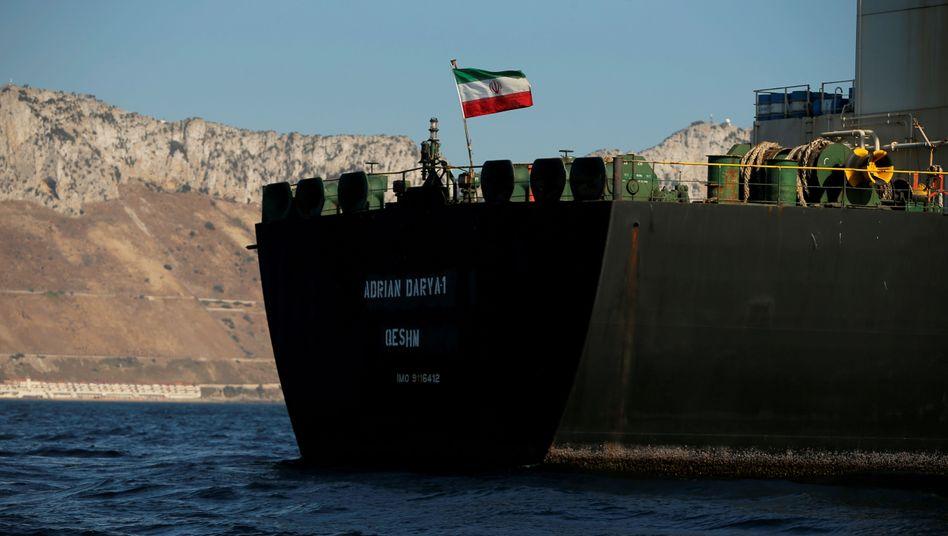 """""""Adrian Darya-1"""": Mehr als sechs Wochen wurde der Tanker auf Gibraltar festgesetzt"""