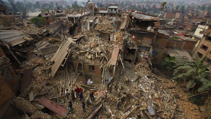 Erdbeben im Himalaya: Ein Land in Schockstarre