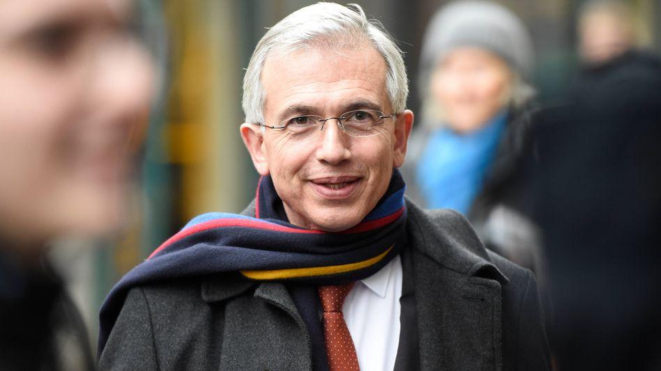 Frankfurts Oberbürgermeister Peter Feldmann darf keine Eröffnungsrede auf der IAA halten