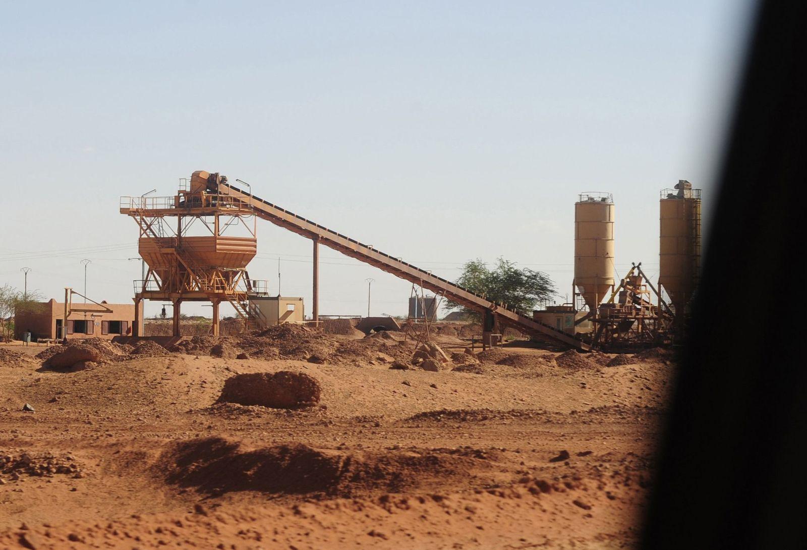 Uraniummine / Arlit / Niger
