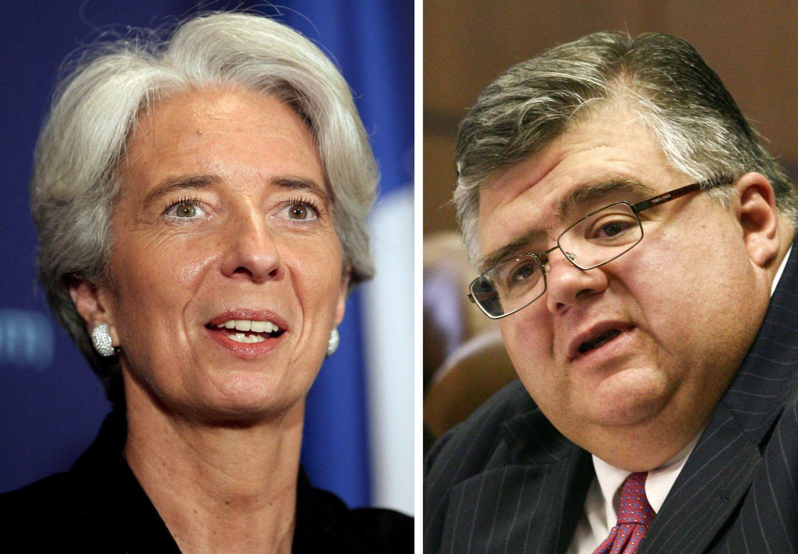 IWF/ Kandidaten/ Lagarde/ Carstens
