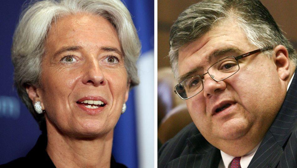 IWF-Chefanwärter Lagarde, Carstens: Entscheidung bis Donnerstag