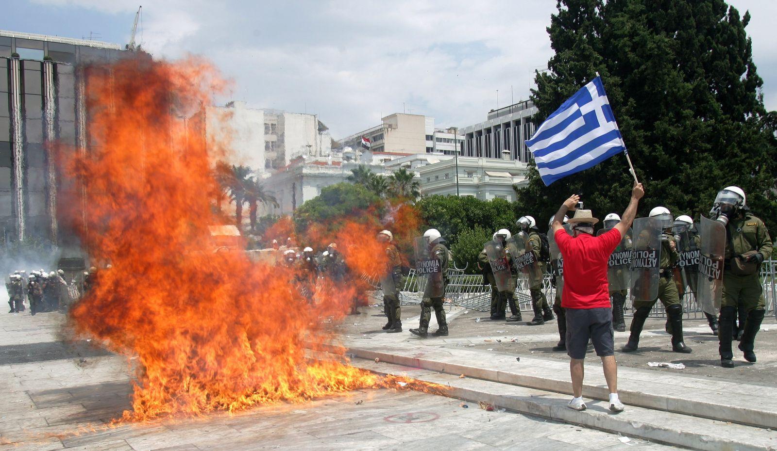 Athen / Proteste
