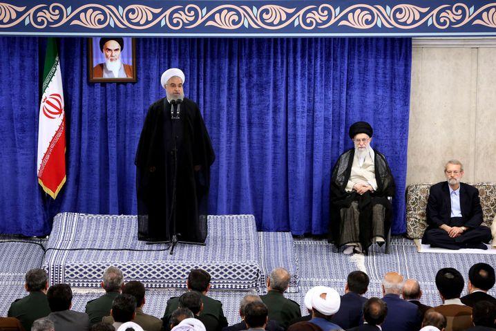 Irans Führungsriege hält am Konfrontationskurs fest - ebenso wie die USA