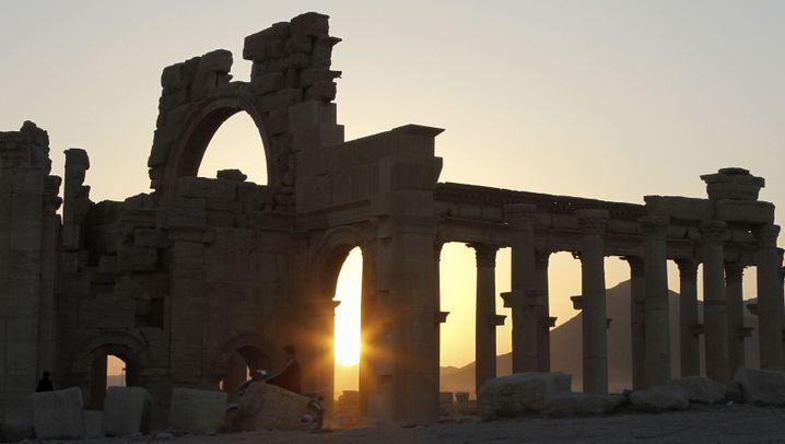 Palmyra: Knotenpunkt der Handelsrouten