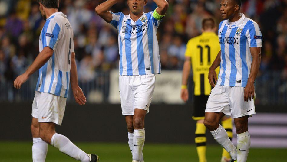 Malaga-Profis: Turbulente Reise zum Auswärtsspiel