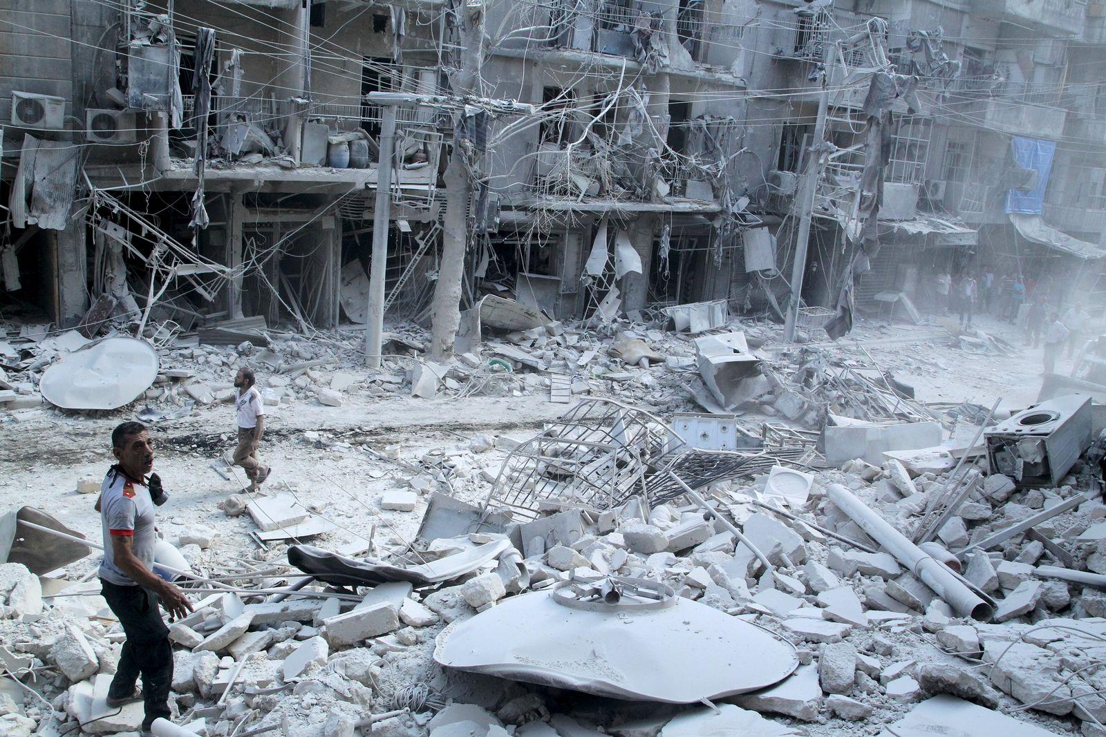 Syrienkrieg/ Aleppo