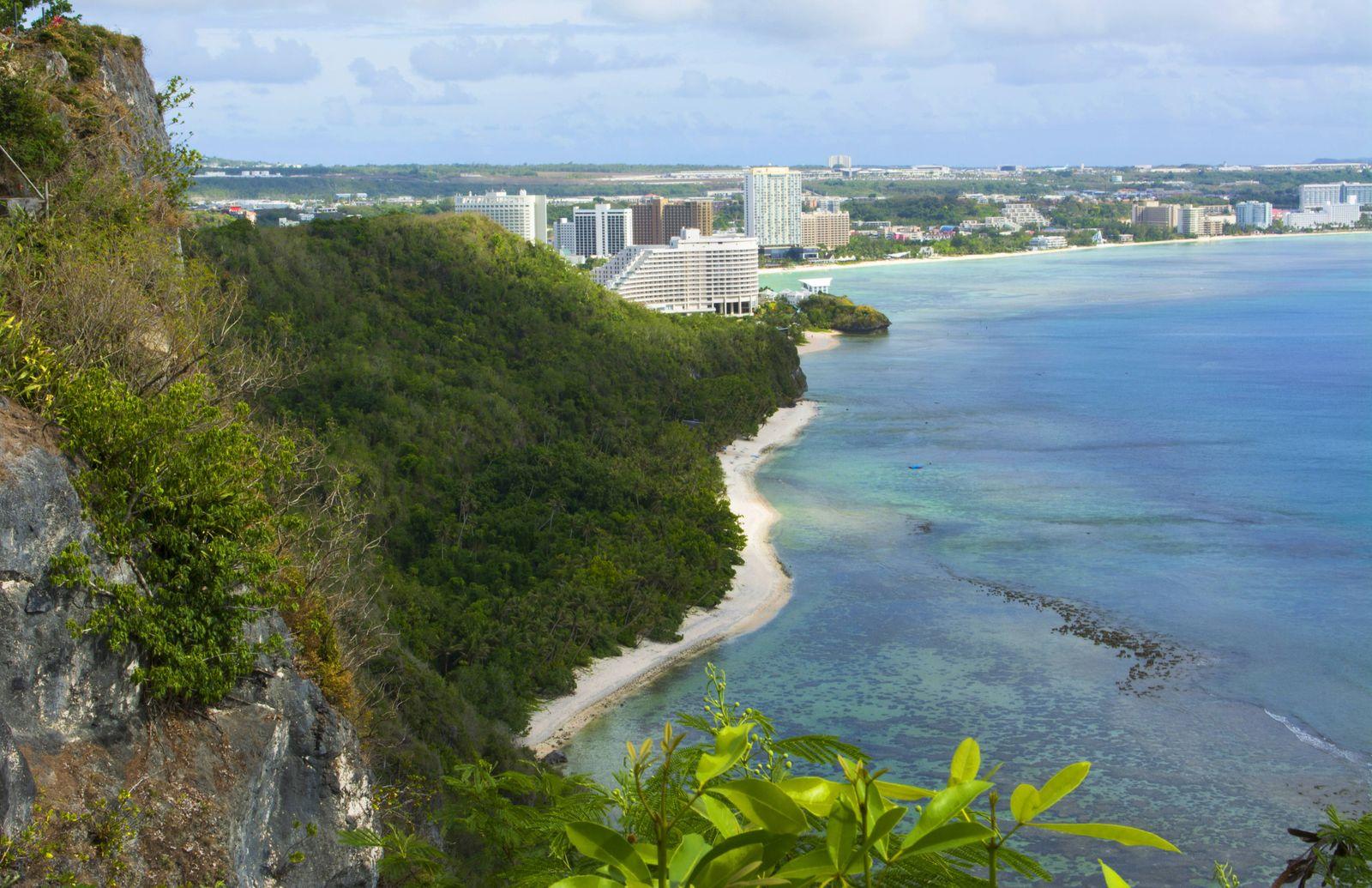 EINMALIGE VERWENDUNG Vatikan/ Guam