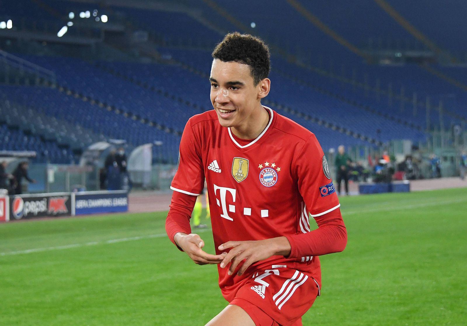 FUSSBALL CHAMPIONS LEAGUE SAISON 2020/2021 Achtelfinale Hinspiel 23.02.2021 Lazio Rom - FC Bayern Muenchen JUBEL FC Bay