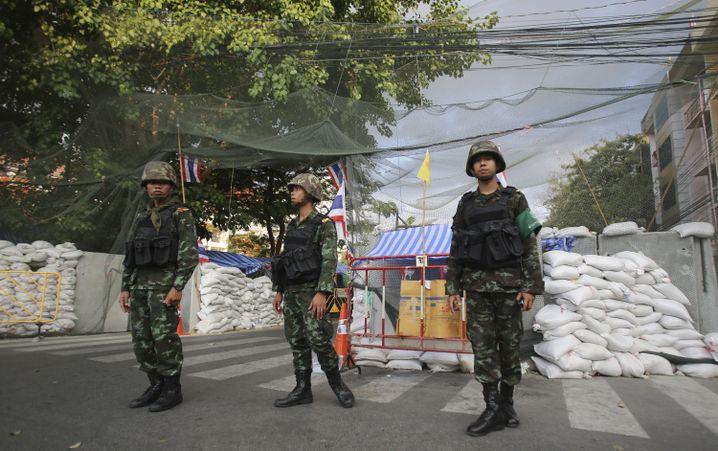 Thailand im Mai 2014 nach der Machtübernahme durch das Militär