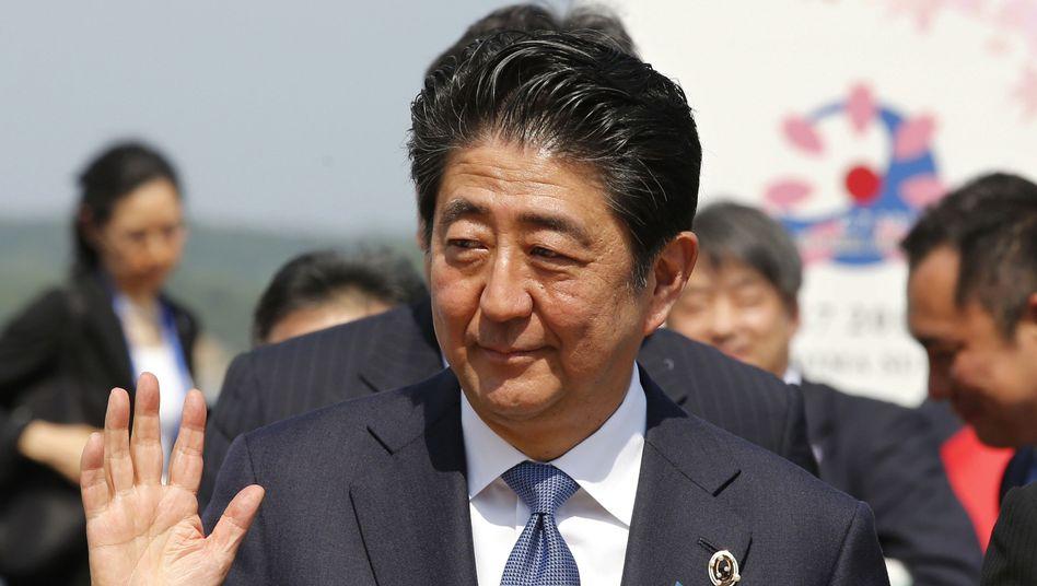 Shinzo Abe (Archivbild)