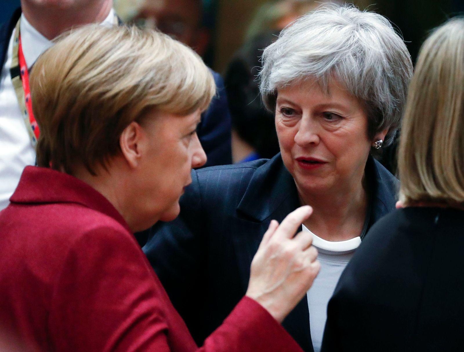 Angela Merkel Theresa May