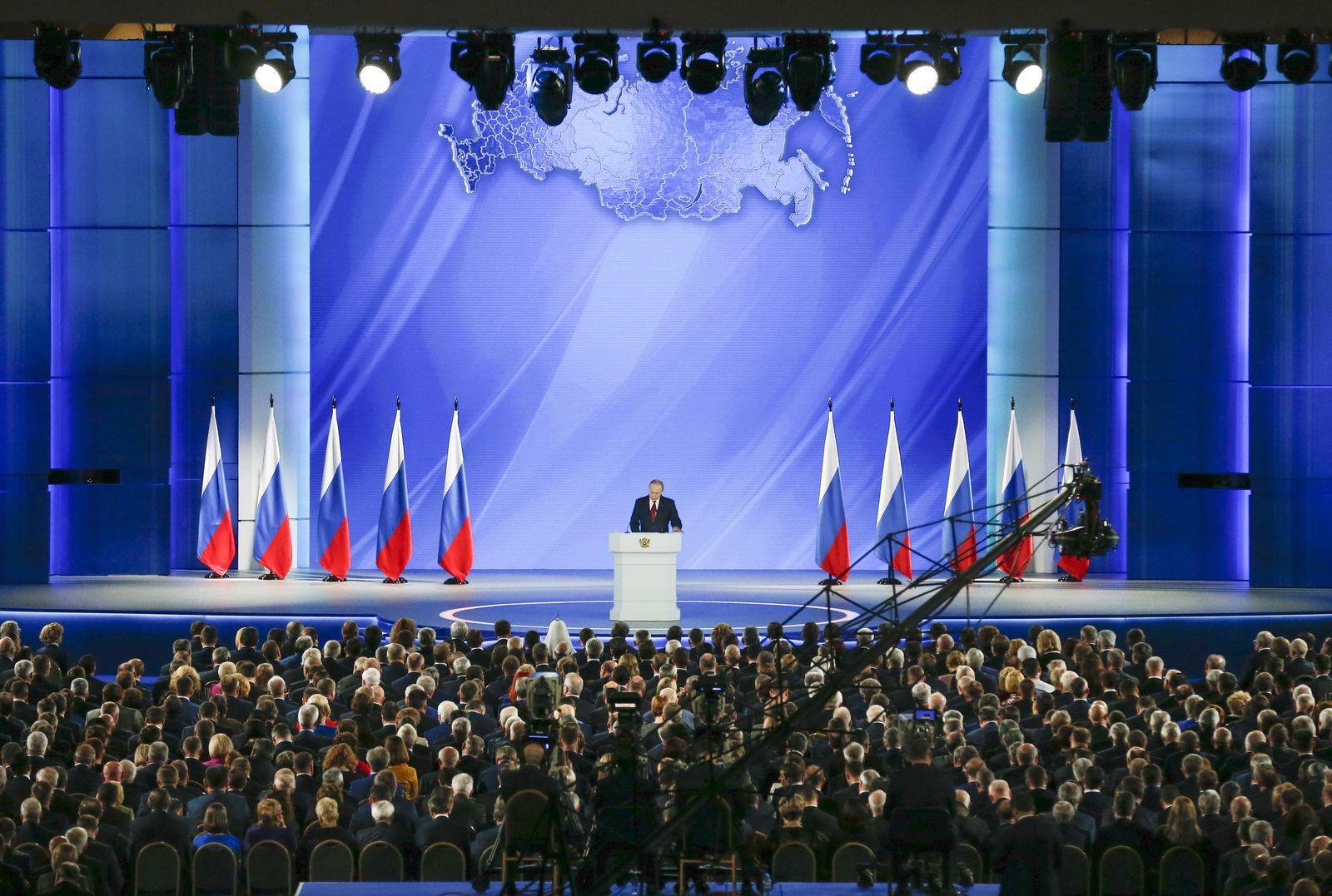Rede zur Lage der Nation in Russland