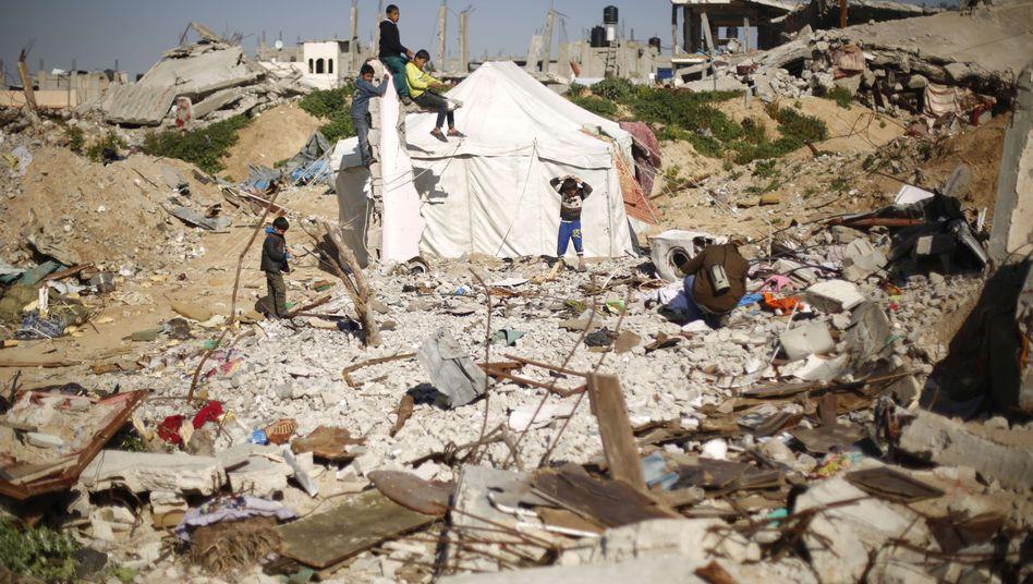 Ruinen in Gaza-Stadt: Der 50-tägige Krieg im Sommer 2014 ist einer der Gründe für die Klage der Palästinenser vor dem Strafgerichtshof in Den Haag