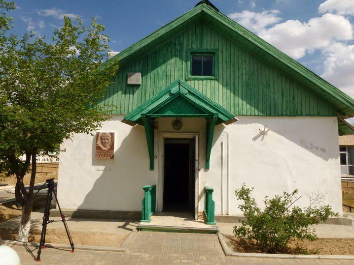 Gagarins Haus in Baikonur (im Mai 2014)
