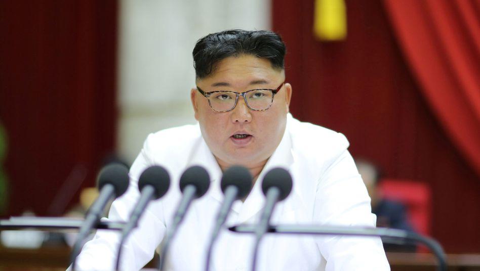 Nordkoreas Machthaber Kim Jong Un hat an Abrüstung bislang kein Interesse