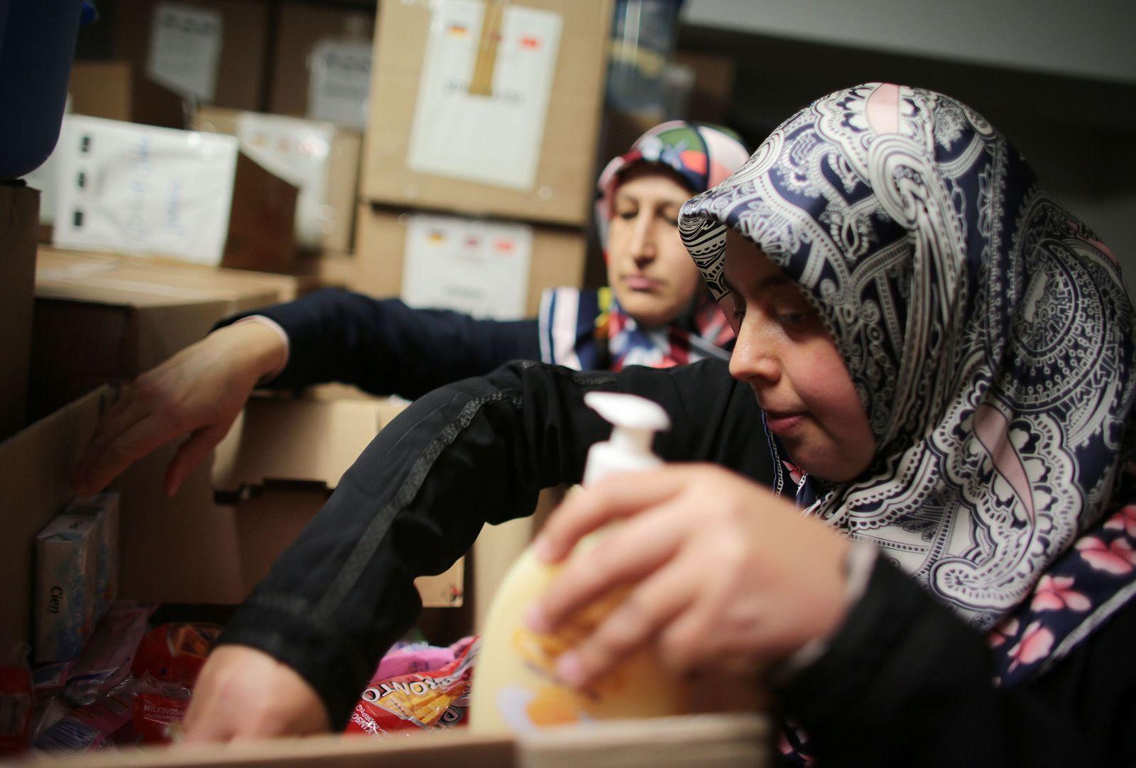 Muslime engagieren sich für Flüchtlinge
