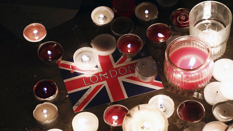 Trauer nach dem Attentat in London