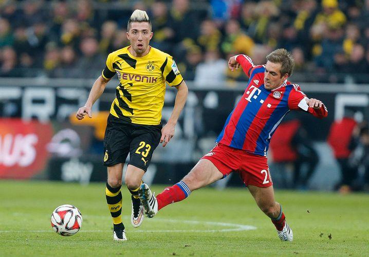 2015 spielte Kampl ein halbes Jahr für den BVB