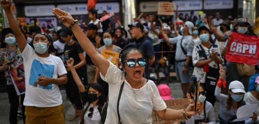 Myanmar: Augenzeugen berichten vom Generalstreik