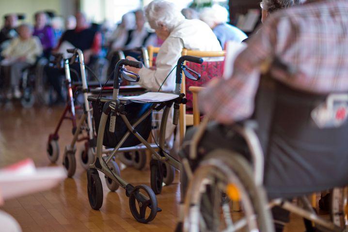 Bild aus einem Pflegeheim in Parchim (Archivbild)