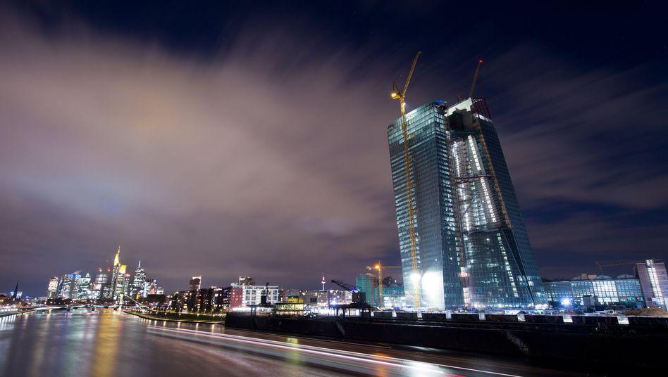 Neubau der EZB in Frankfurt: Ungewöhnliche Bewertungen