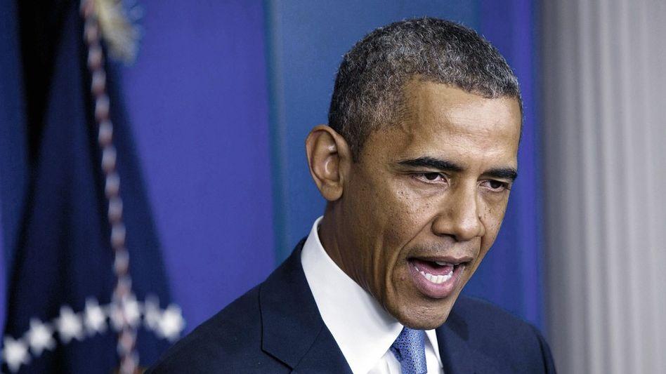 US-Präsident Obama: Erpressung abgewehrt