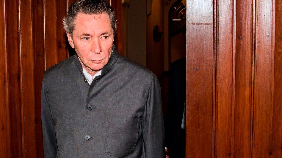 Jean-Claude Arnault vor Gericht in Stockholm