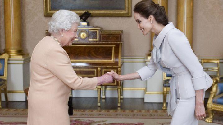 Foto-Rückblick: Die Queen trifft...