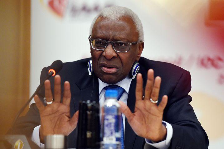 Der ehemalige Leichtathletik-Weltverbandspräsident Lamine Diack