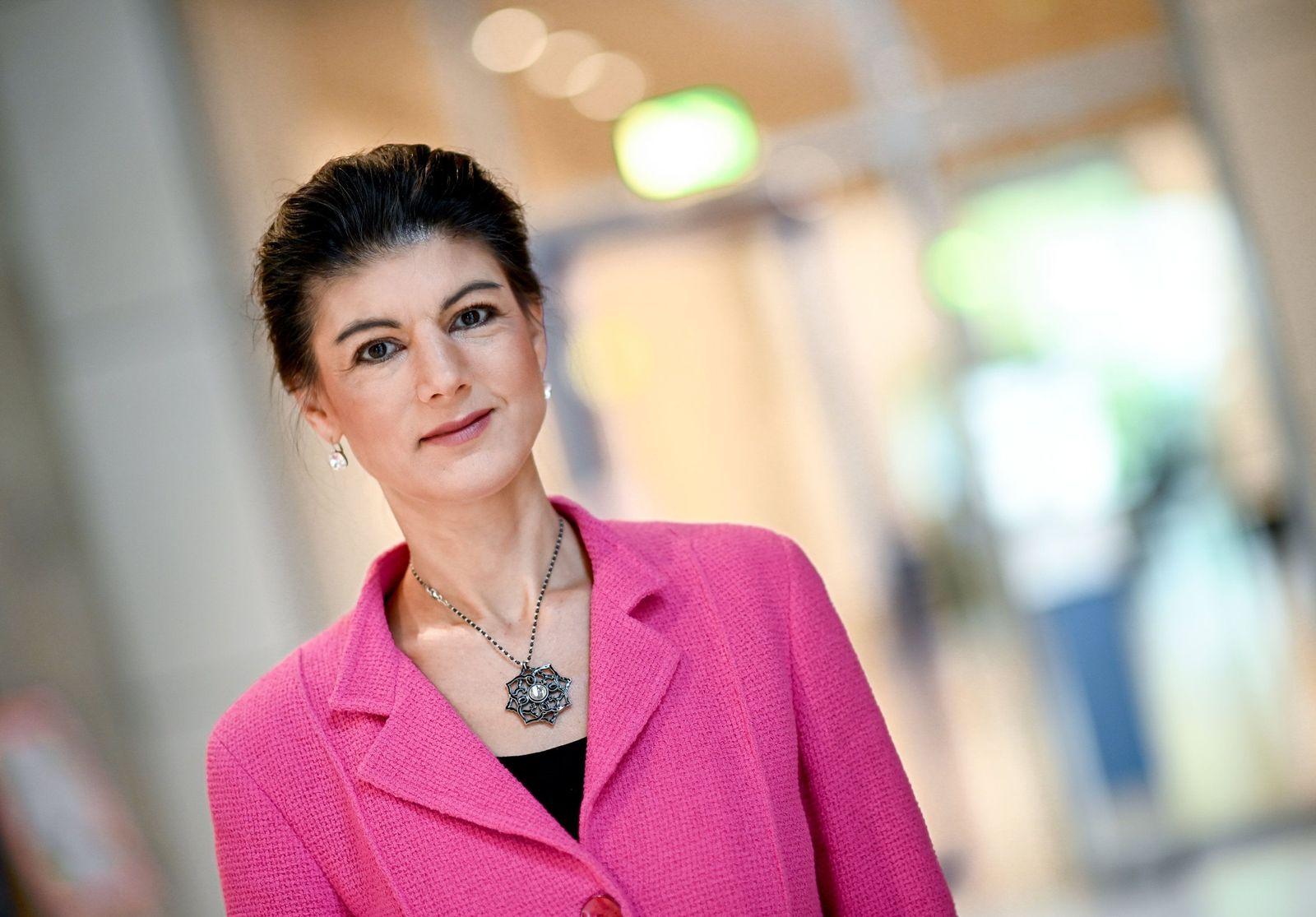Linksfraktionschefin Sahra Wagenknecht - Lage