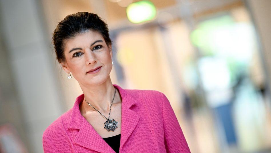 Sahra Wagenknecht: Parteiintern in der Kritik