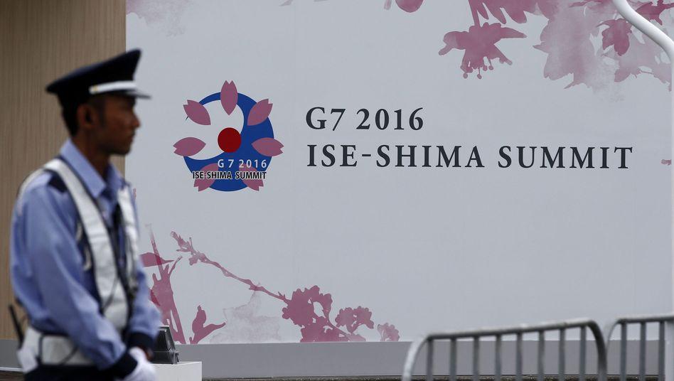 Polizist in Ise-Shima