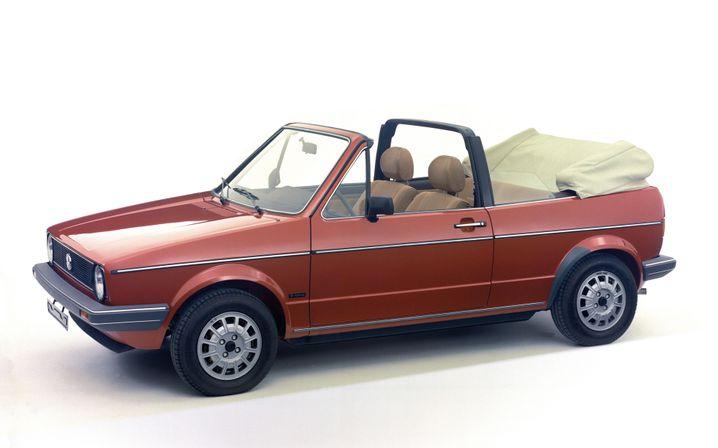 VW Golf Cabriolet - auch Erdbeerkörbchen genannt