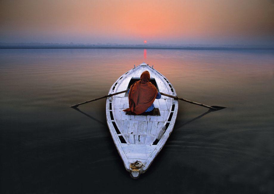 """Pilger auf dem Ganges: """"Es hat perfekt funktioniert"""""""