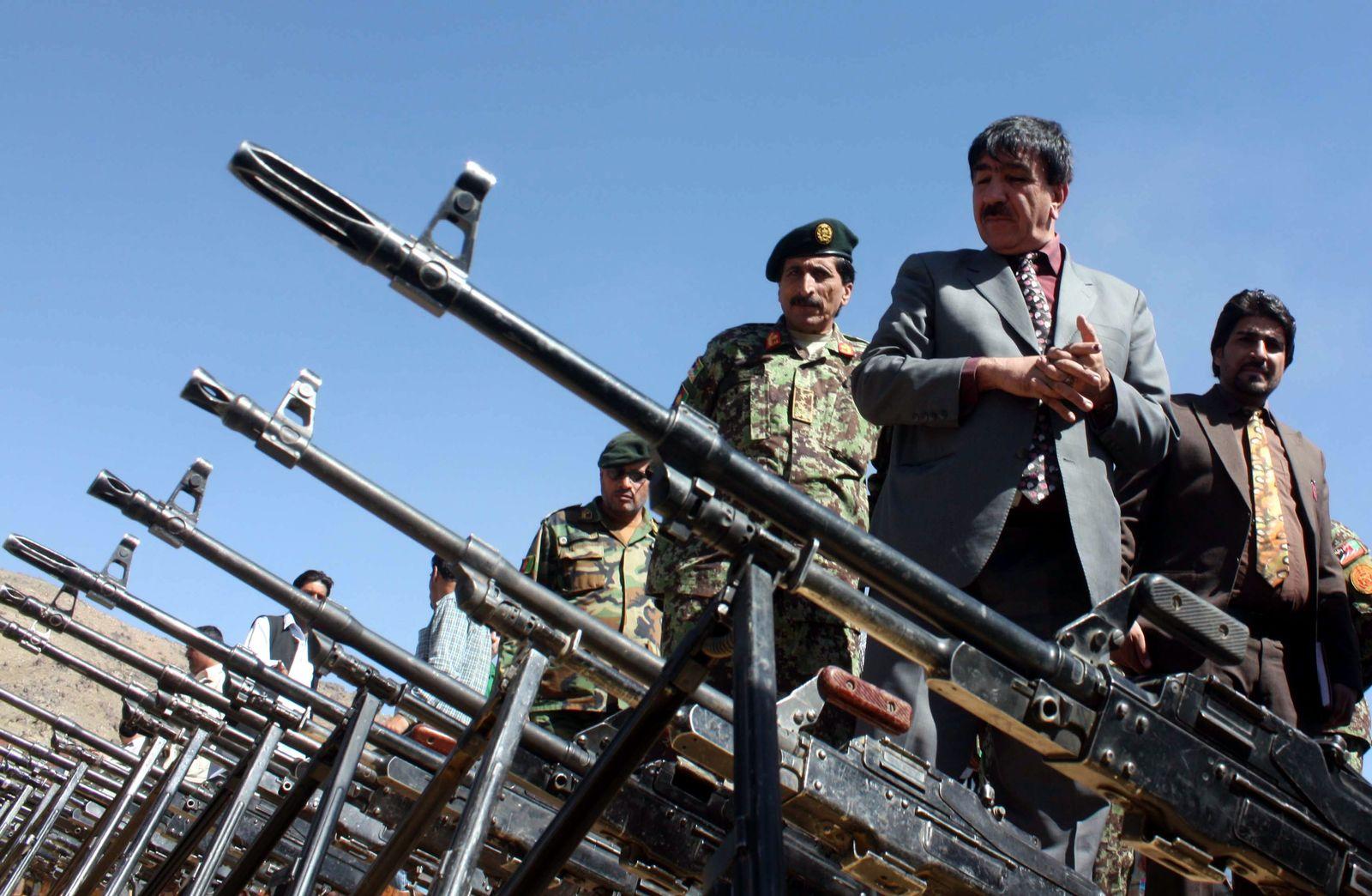 Waffen private Sicherheitsfirmen Afghanistan