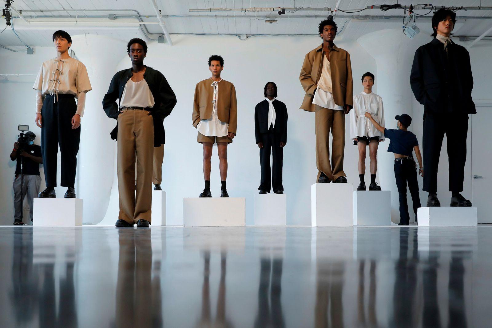 New York Men's Day during New York Fashion Week in Manhattan, New York City