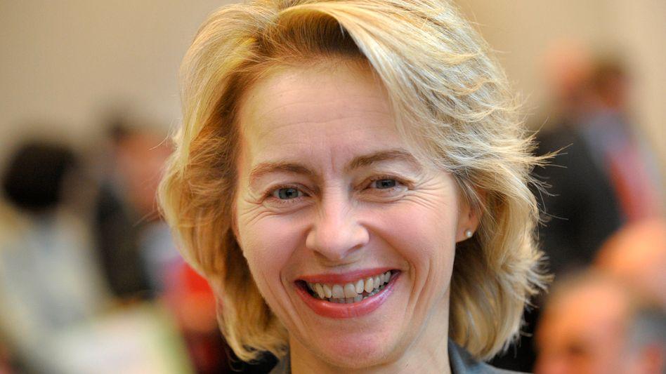 Bundesfamilienministerin Ursula von der Leyen: Wechsel ins Arbeitsministerium