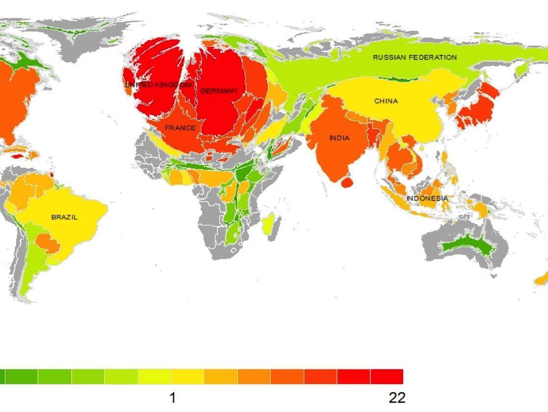 Co2 Emissionen Rangliste Der Staaten Bei Klimaerwarmung Der Spiegel