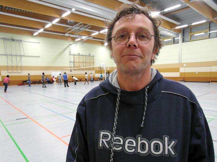 Flüchtlingshelfer Stefan Vogl