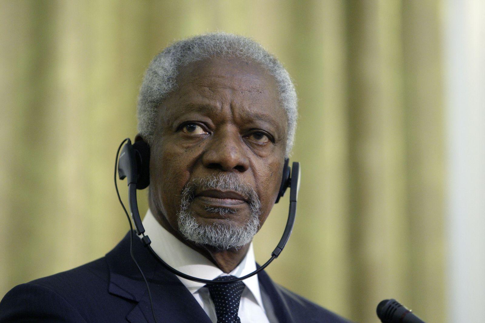 Kofi Annan/ Syrien