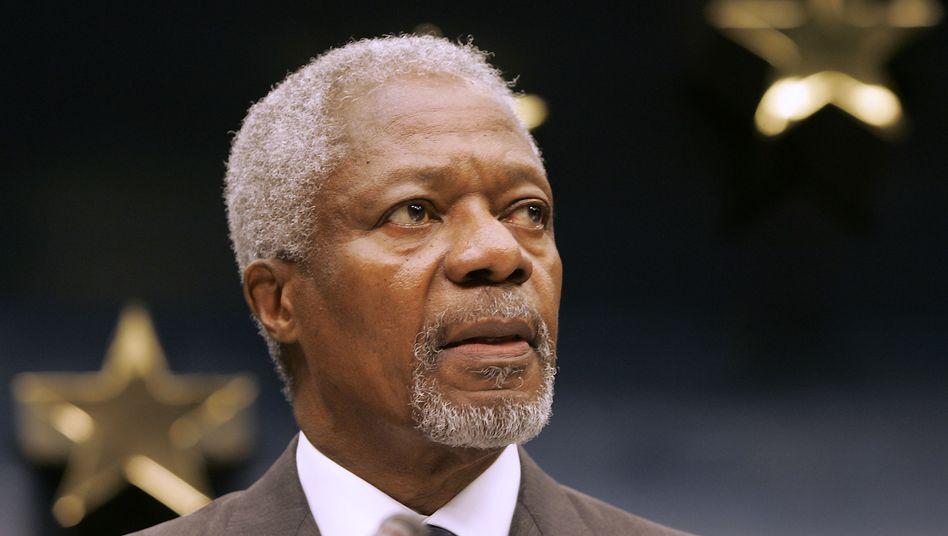 Kofi Annan (Archivbild): Berufen durch Uno-Chef Ban Ki Moon