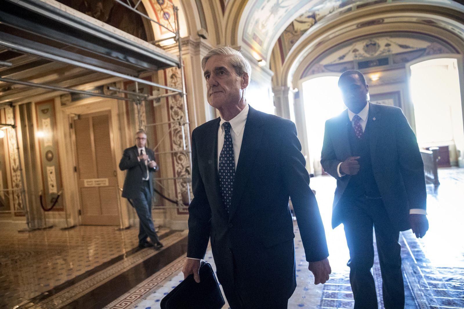 Trump/ EinJahrImAmt/ Robert Mueller