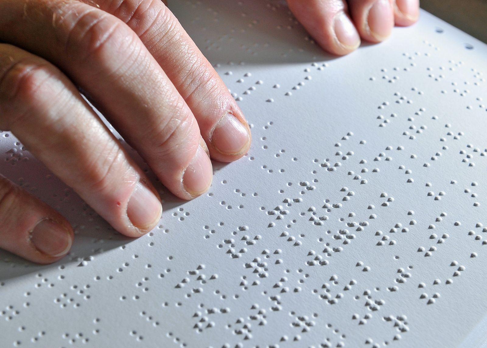 Am 4. Januar - Welt-Braille-Tag