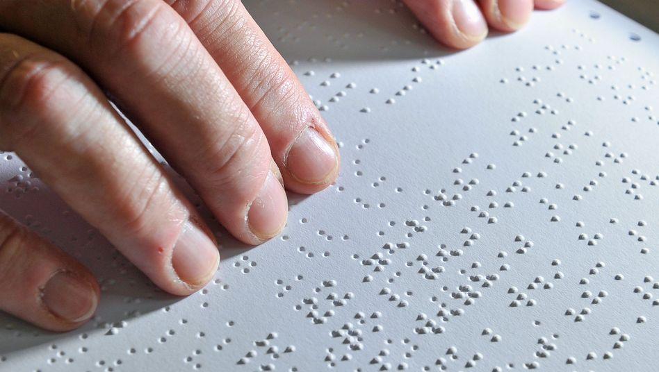 Roman in Brailleschrift
