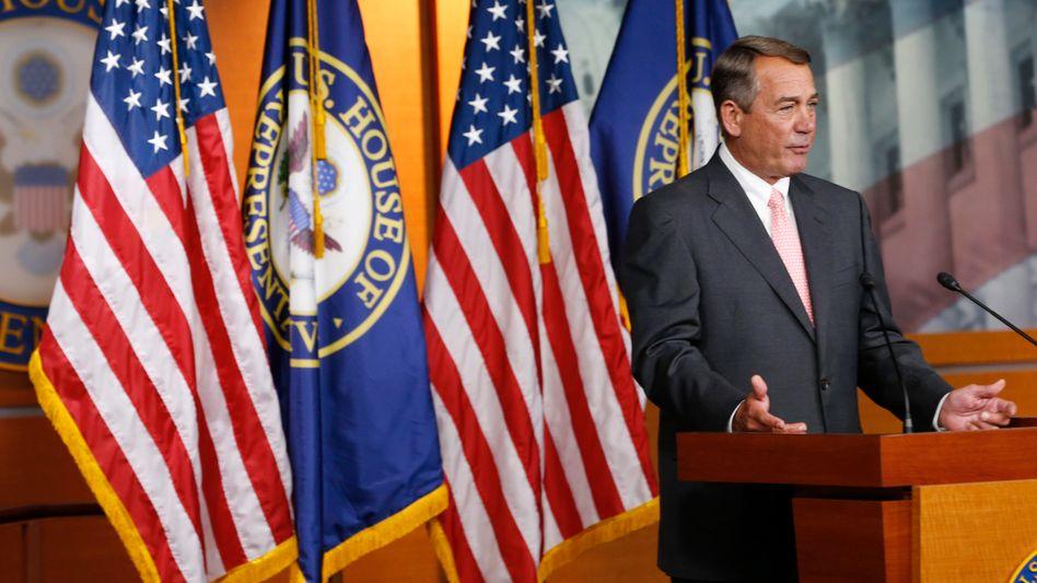 Republikaner Boehner: Kursstreit in der Partei